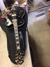 Oscar Schmidt OE40 B Electric Archtop - Nice Jazz Guitar VGC Black
