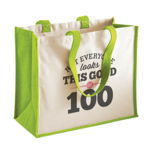 100th Birthday Looking Good Gift Women's Ladies Shopping Bag Present Tote Idea
