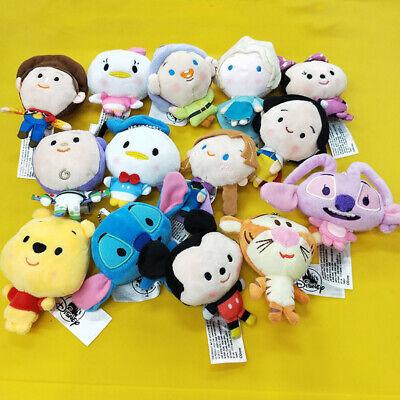 mickey minnie donald duck stuffed plush doll dolls toy fridge magnet 23CM anime