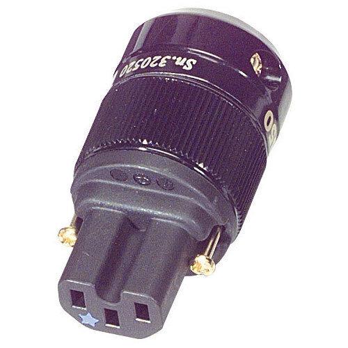 Wattgate 350i AU Black Audio Grade IEC Connector