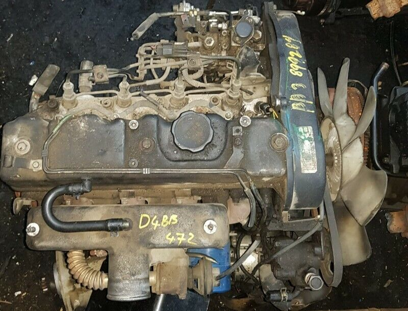 HYUNDAI  H100 D4BB 2.6L NON TURBO DIESEL ENGINE   COMPLETE , LOW MILEAGE IMPORT .
