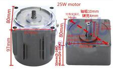 110v Ac Gear Motor Electric Motor Variable Speed Controller 110 10k135rpm New