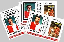 FEYENOORD - 1970/71 SERIES 1 - COLLECTORS POSTCARD SET