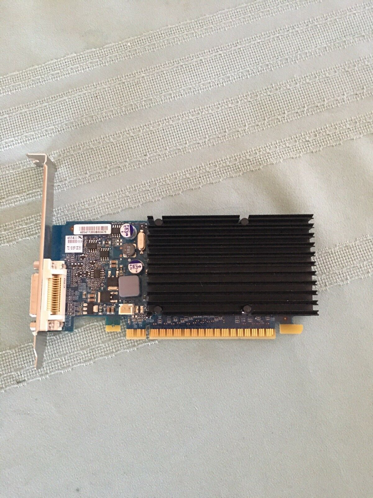 PNY GeForce 8400 GS DDR2 512 MB PCIe 2.0 Low Profile DVI Video Card. Great Shape