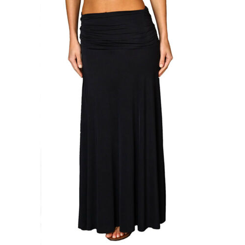 A-line Chic strapless Jersey Cocktail Party Day Dress Convertible Skirt Black