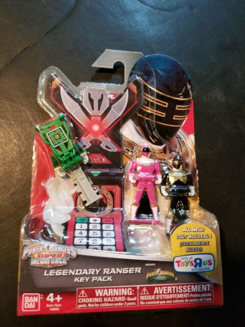 38316 Red Light Gold Pink Sky Power Rangers Super Megaforce Legendary Key Pack Samurai Fire