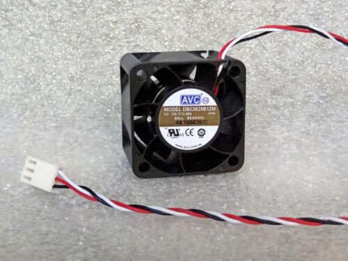 "NEW AVC 38mm x 38mm x 28mm Server Fan 12.5 CFM 11/"" Leads 12V DC 38x28mm 38x38mm"
