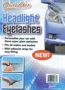AutoAce-Scooter-Headlight-Eyelashes-Universal-Fits-Any-Bike-High-Quality-New