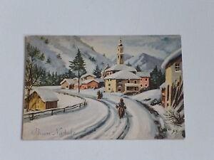 Buon Natale Anni 60.Dettagli Su Cartolina Buon Natale Anni 60 Non Viaggiata