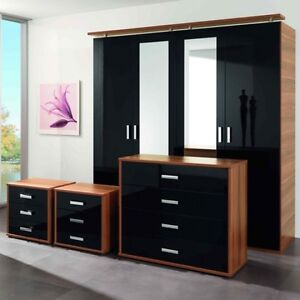 Gloss-Bedroom-Furniture-Unit-Cover-Up-Vinyl-Film-For-Beds-Drawers-Doors-Cupboard