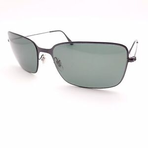 ab776f18ca Ray Ban 3514 153 71 Black Green 58mm New Authentic Sunglasses ...