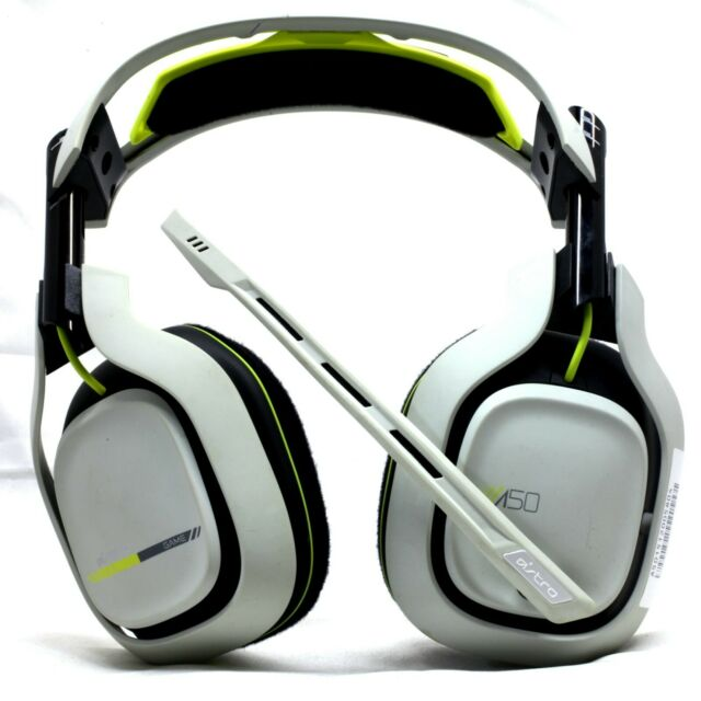 Astro 3as50 Xow9w 371 A50 Wireless Gaming Headset For Xbox One White Green For Sale Online Ebay