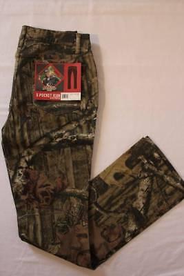Mossy Oak Break Up Infinity Womens 5 Pocket Jeans Pants Camo Hunting Size 14