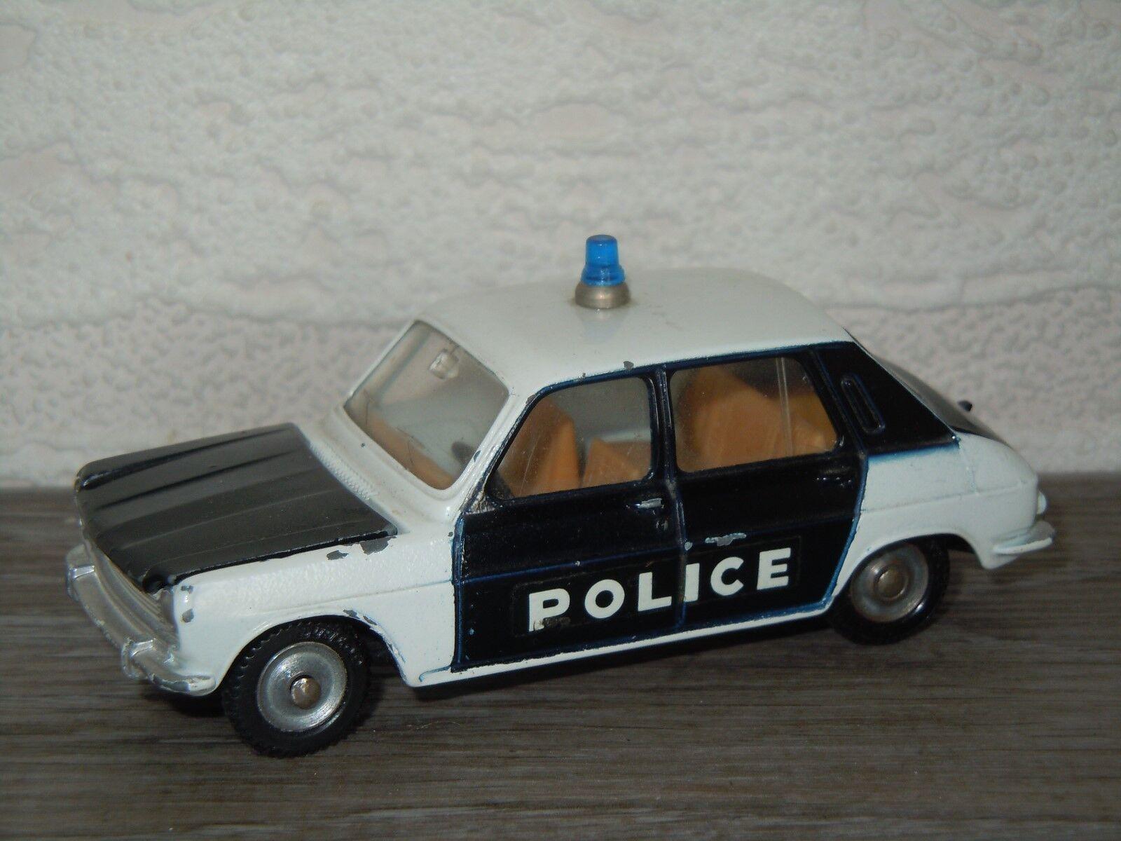 Simca 1100 Police - Dinky Toys 1407 France 1 43 32892