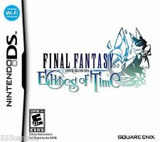Final Fantasy Crystal Chronicles Echoes of Time NEW SEALED  (Nintendo DS, 2009)
