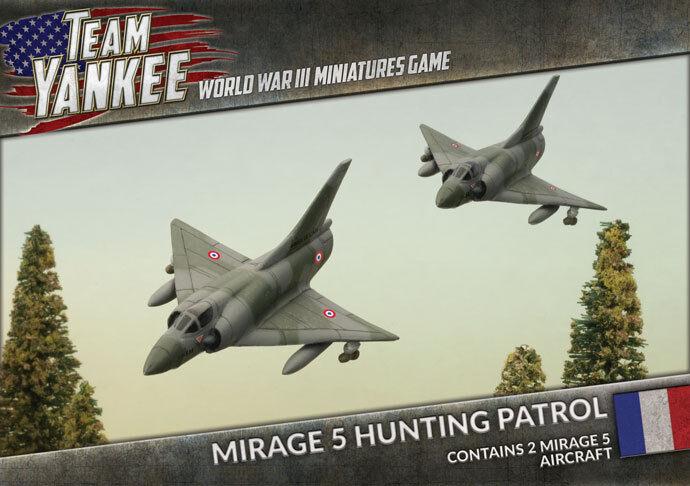 Team Yankee - French  Mirage 5 Hunting Patrol TFBX09