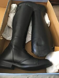 37cdacb30230 Image is loading TuffRider-Ladies-Baroque-Field-Boots-8-1-2-