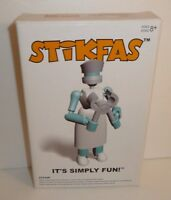 Nurse Beta Female - Action Figure Kit Stikfas Model Kits Saw Hospital Worker