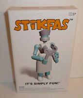 Nurse Beta Female - Action Figure Kit Stikfas Model Kits Saw Hospital Worker