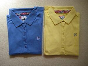 69a0dd2b9 Ladies Ex Crew Clothing Company Classic Polo Shirt Top size 6 10 | eBay