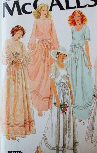 Simplicity Butterick UC Vtg Wedding Gown Dress Veil Slip Sew Pattern ~ U PICK