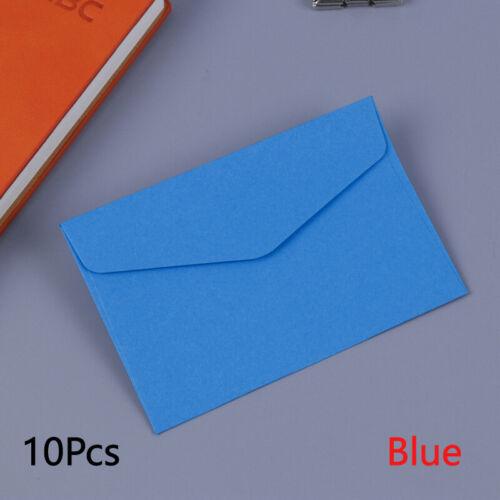 10 Pcs Wedding Birthday Paper Mini Envelopes Invitation Postcard Stationery