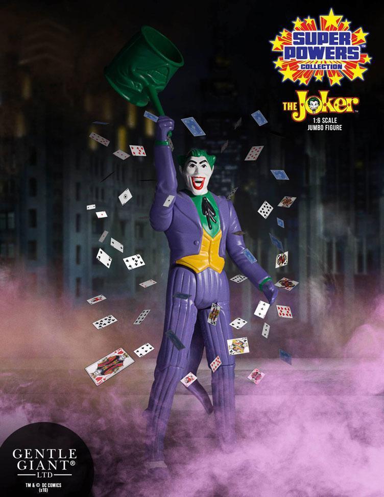 DC Gentle Giant súper Powers Vintage Jumbo Joker Acción Figura