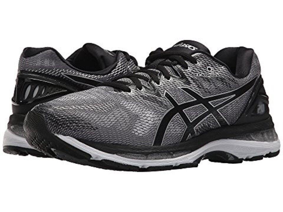 ASICS T800N.9790 GEL-NIMBUS® 20 Mn's (M) Carbon Black Silver Silver Silver Mesh Running shoes 7651aa