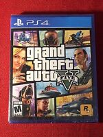 Grand Theft Auto Gta V 5 Ps4 Game (brand New, Factory Sealed Case With Disc)