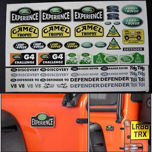 Lot-Land-Rover-DEFENDER-Logo-Sticker-For-1-10-TRAXXAS-TRX4-SCX10-RC4WD-D90-D110