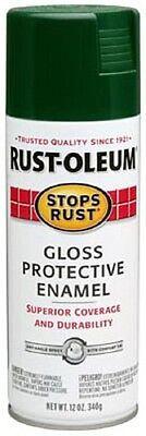 Rust-Oleum 12oz Gloss Hunter Green Enamel Spray Paint 7738-830