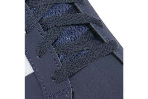 adidas Mens Pace VS Nubuck Trainers Navy White Sports Shoes