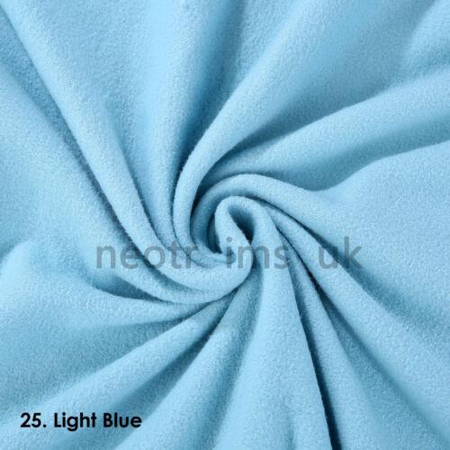 27 Fashion Colours Cheap Price Soft Pile Polar Fleece Anti Pill Quality Fabric