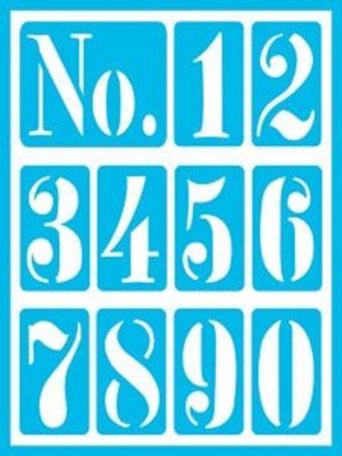 "Americana Gloss Enamels Stick-On Stencils Everyday Alphabet 6/""x 8/"""