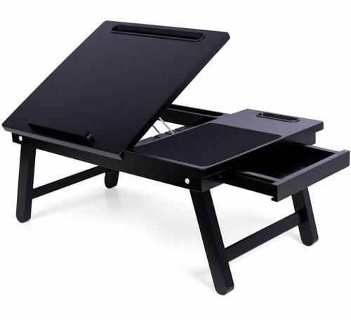 Sofia Sam Multi Tarefas Laptop Cama Bandeja Bambu Lap Desk Mesa Dobrável Bandeja Para Tv