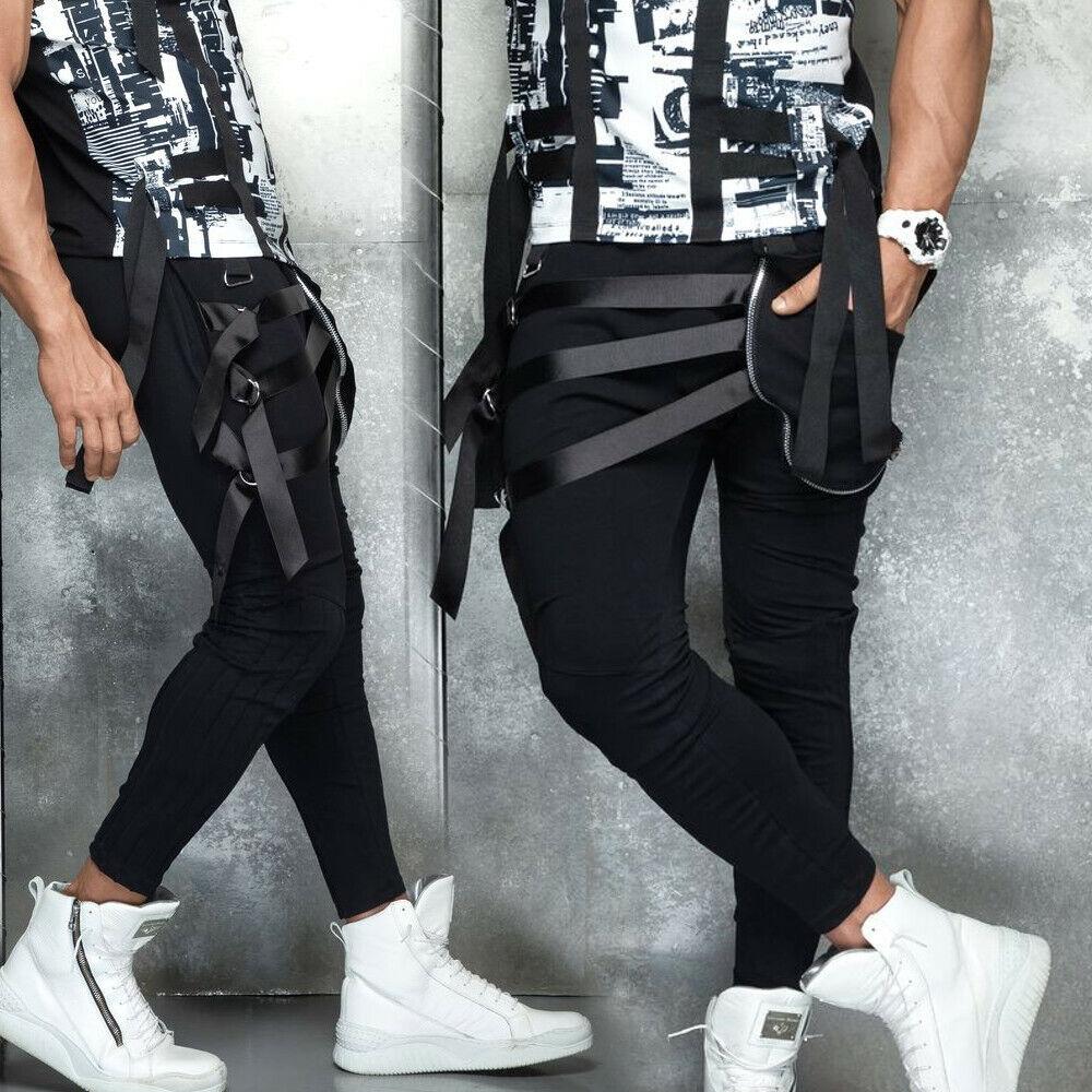 By alina mexton señores pantalones boyfriendhose fitness pantalones tiempo  libre pantalones S-XL  m47  mejor calidad