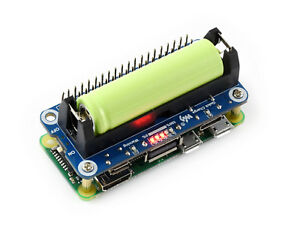 Li-ion-14500-Battery-HAT-for-Raspberry-Pi-5V-Output-Bi-directional-Quick-Charge