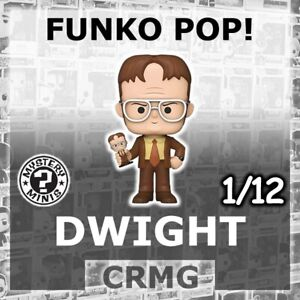 FUNKO MYSTERY MINIS DWIGHT SCHRUTE W/ BOBBLEHEAD 1/12 THE AMERICAN OFFICE US POP