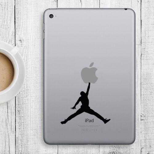 JUMPING MAN Apple iPad Decal Sticker fits iPad Mini iPad Air /& iPad Pro models