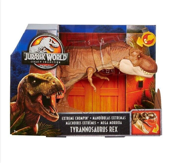 Jurassic World Park Legacy Collection Extreme Chompin Tyrannosaurus Rex T-Rex