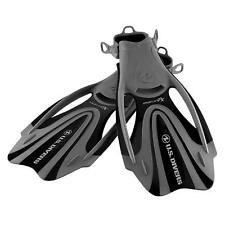 U.S. Divers ProFlex Fx Adult LG (10-13) Snorkeling/Diving Water Fins, Black