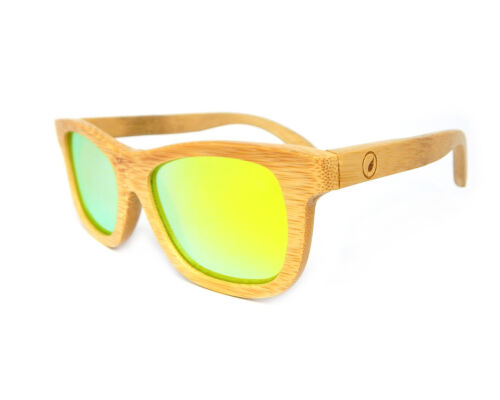 retro Uvb polarizzati Uva palissandro bambù Occhiali sole da di in da legno sole occhiali di w7qaf6
