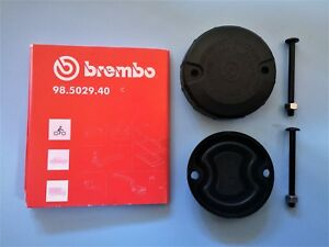APRILIA-KTM-BMW-FRONT-BRAKE-RESERVOIR-CAP-DIAPH-KIT-LATE-TYPE-GENUINE-BREMBO