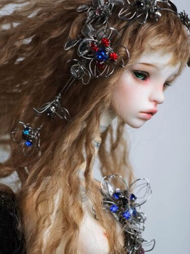 Brand New 1//3 Stacy Free Eyes FaceUp BJD double jointed model reborn