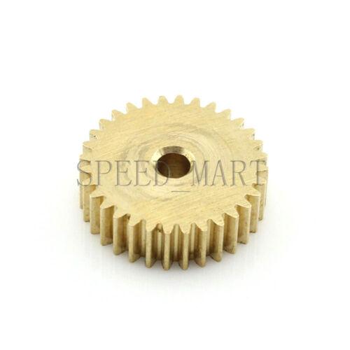 0.5M31T 3//4//5//6//6.35//7//8mm Bore Hole Width 5 Module 0.5 Motor  Metal Spur Gear