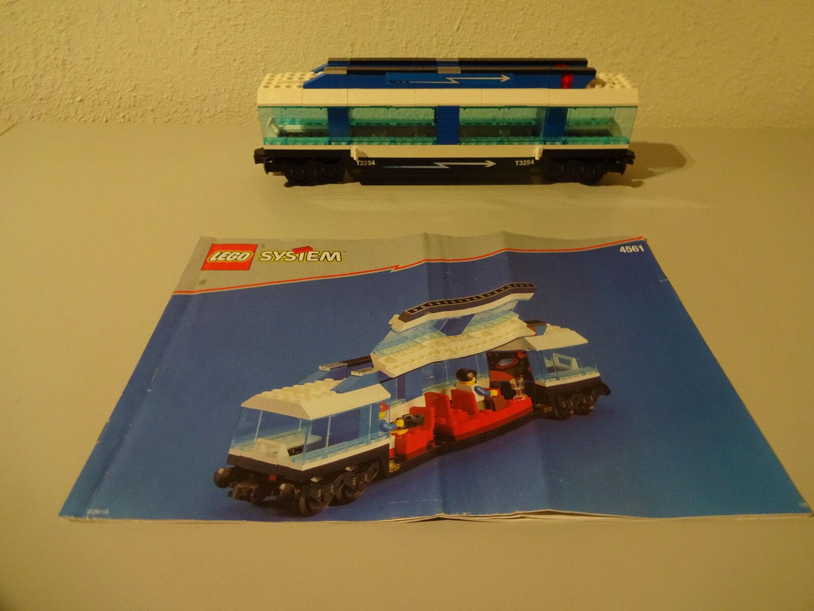 (D9) (D9) (D9) Lego System 45561 Passenger Car Railway with Ba 9 Volt Used RAR 6ba305