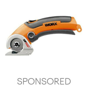 WORX WX081L ZipSnip Cordless 4V Electric Scissors with Self Sharpening Blade