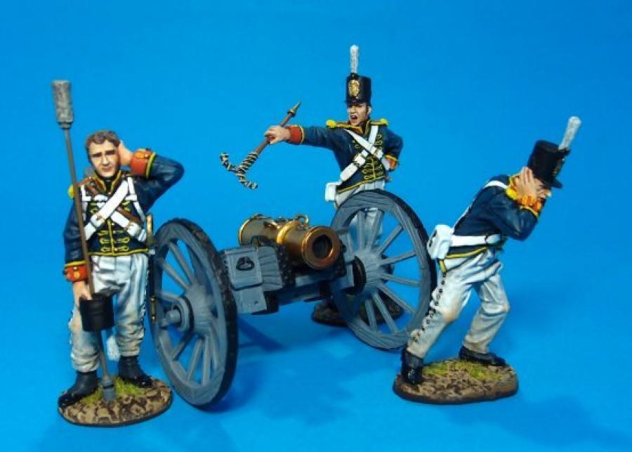 JOHN JENKINS PENINSULAR WAR 1807-1814 PBART-01 BRITISH FOOT ARTILLERY CREW MIB