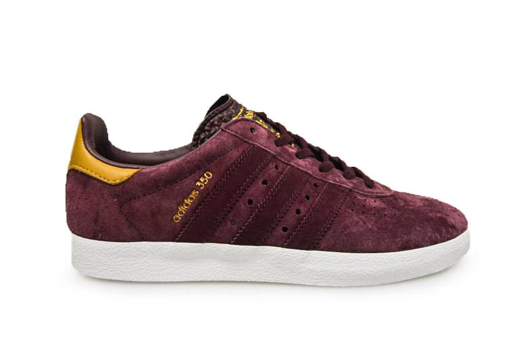 Para Hombre Adidas 350-BB5289-Rojo Granate entrenadores entrenadores Granate 0ef018