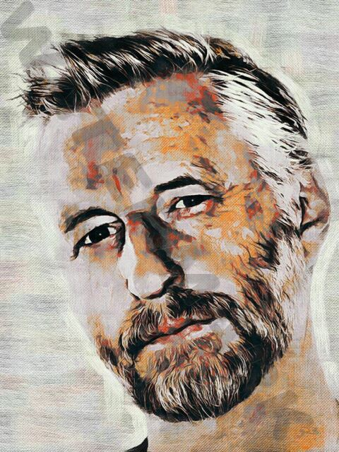 BILLY BRAGG TOOTH AND NAIL ART PRINT POSTER OIL PAINTING LFF0016